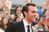 Matt Lewis flashes his swoon-worthy smile at the NYC premiere of Harry Potter and the Deathly Hallows Part 2.