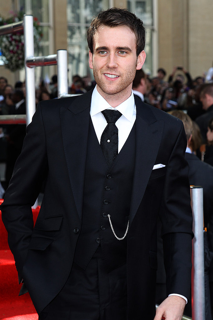 Matt Lewis looks smokin' in his three-piece suit at the London world premiere of Harry Potter and the Deathly Hallows Part 2.