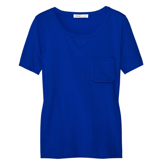 See by Chloé Cotton Jersey T-Shirt, $125