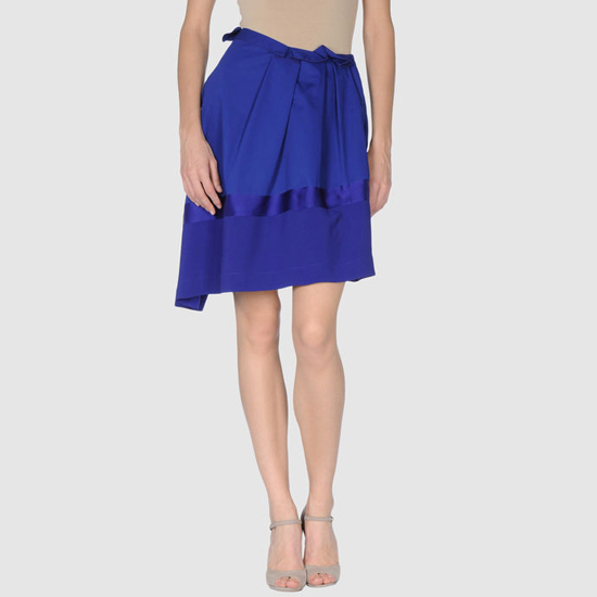 Vionnet Knee Length Skirt, $590