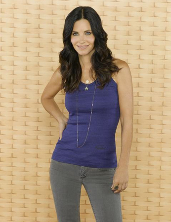 Courteney Cox For Best Actress in a Comedy Series