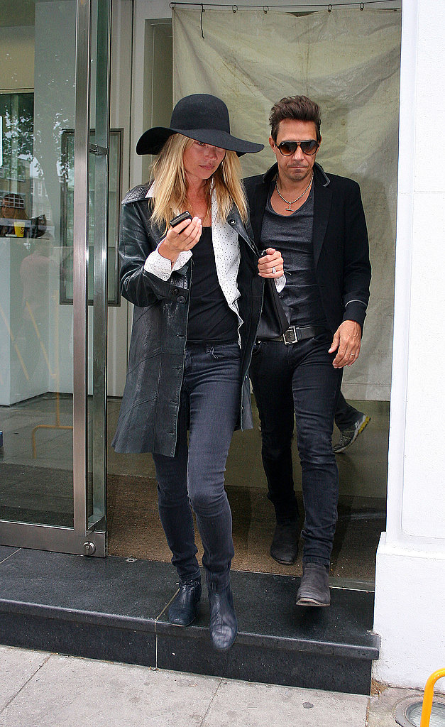 Kate Moss and Jamie Hince together.
