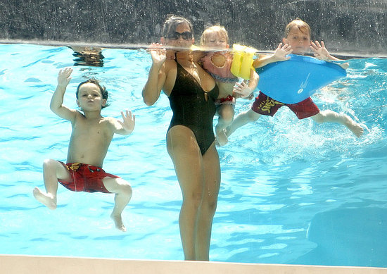 Lynne Spears Takes a Dip With Her Grandkids and Shows Off Her Swimsuit Body