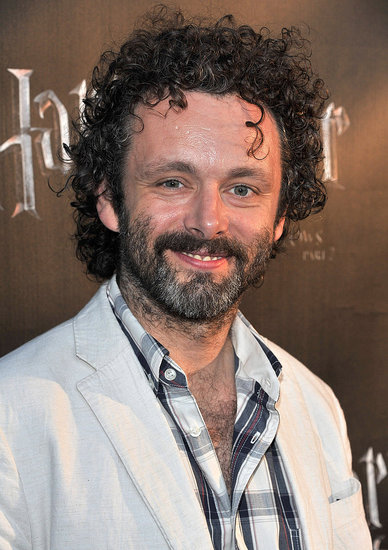 Michael Sheen watches Harry Potter.