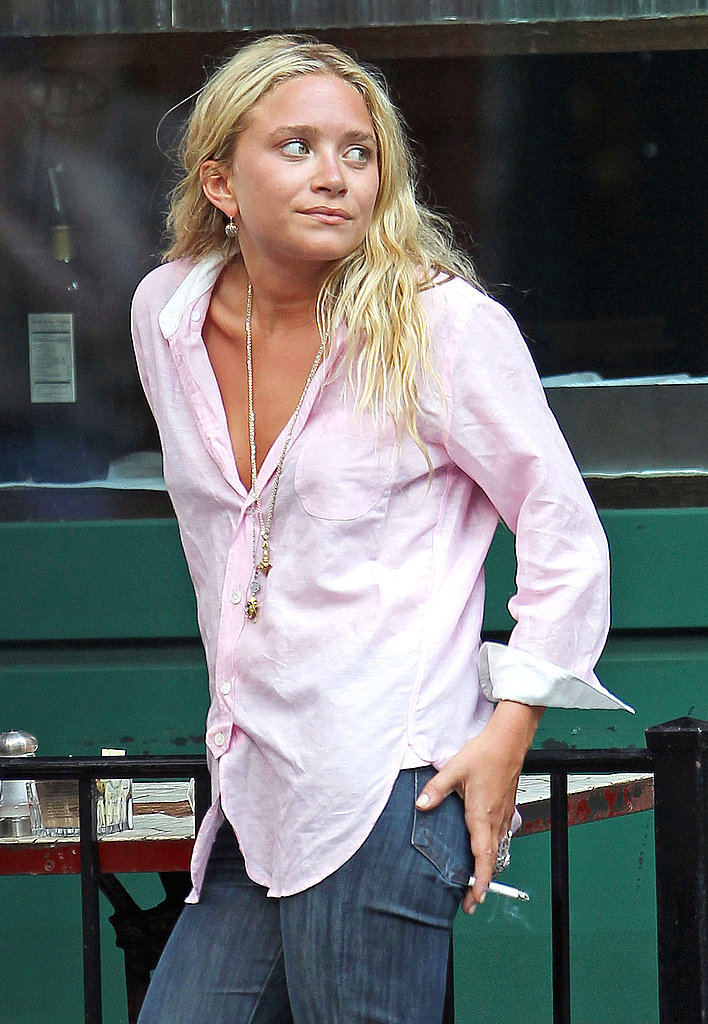 Mary-Kate Olsen looking stylish.