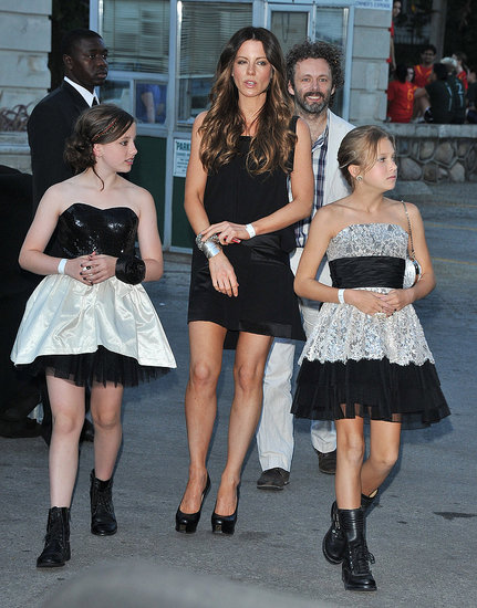 Michael Sheen and Kate Beckinsale Treat Lily to a Harry Potter Premiere