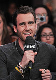Matthew Lewis looks super cute in his interview with New.Music.Live interview at MuchMusic HQ in Toronto, Canada.