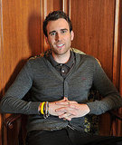 Matt Lewis smiles in Canada while promoting Harry Potter and the Deathly Hallows Part 2.