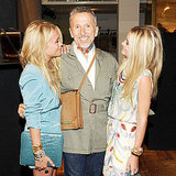 Mary-Kate Olsen, Simon Doonan, Ashley Olsen party at Barneys.