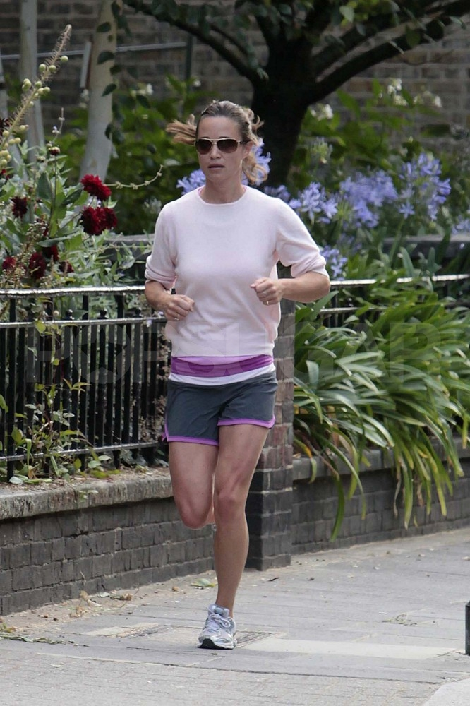 Pippa Middleton running.