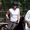 Kristen Stewart on a Horse in Palmdale, CA, Pictures