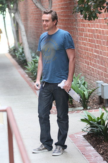 Jason Segel looks cute in LA.