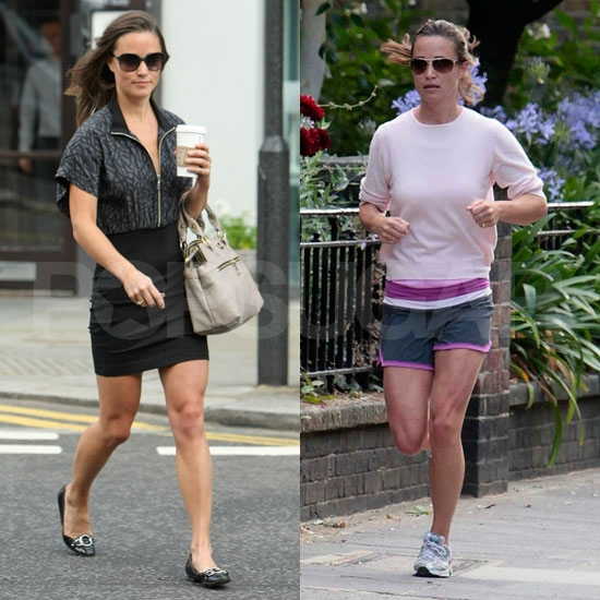 Pippa Middleton Pounds the Pavement and Heads to Work