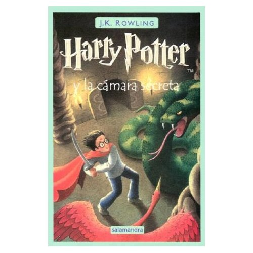 Spanish Harry Potter and the Chamber of Secrets