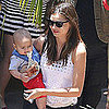 Pictures of Miranda Kerr and Baby Flynn Bloom in LA