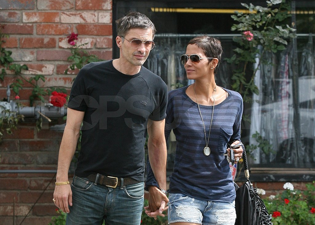 Halle Berry and Olivier Martinez celebrated Bastille Day in LA.