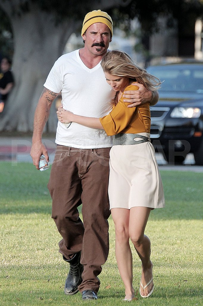 AnnaLynne McCord with older boyfriend Dominic Purcell.