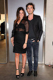 Julia Restoin-Roitfeld and boyfriend Robert Konjic.