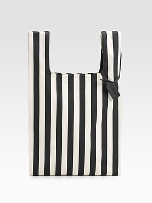 Jil Sander Striped Canvas Market Bag ($267, originally $445)