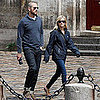 Reese Witherspoon and Jim Toth Shopping at Herms in Paris Pictures