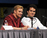 Kellan Lutz and Henry Cavill