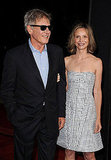 Harrison Ford was joined by his wife Calista Flockheart.