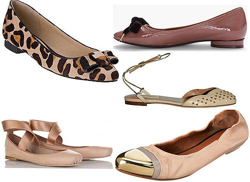 Top Five Ballet Flats: We Edit The Prettiest, Designer Online Buys From Valentino, Kate Spade, Chloe and More!