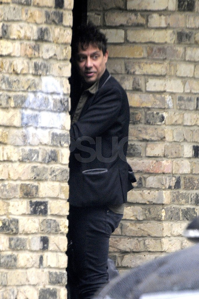 Jamie Hince returns home.