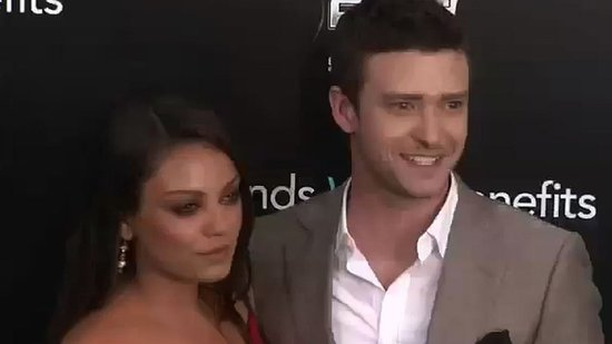 Video: Mila Kunis and Justin Timberlake Keep the Chemistry Coming at Friends With Benefits Premiere!