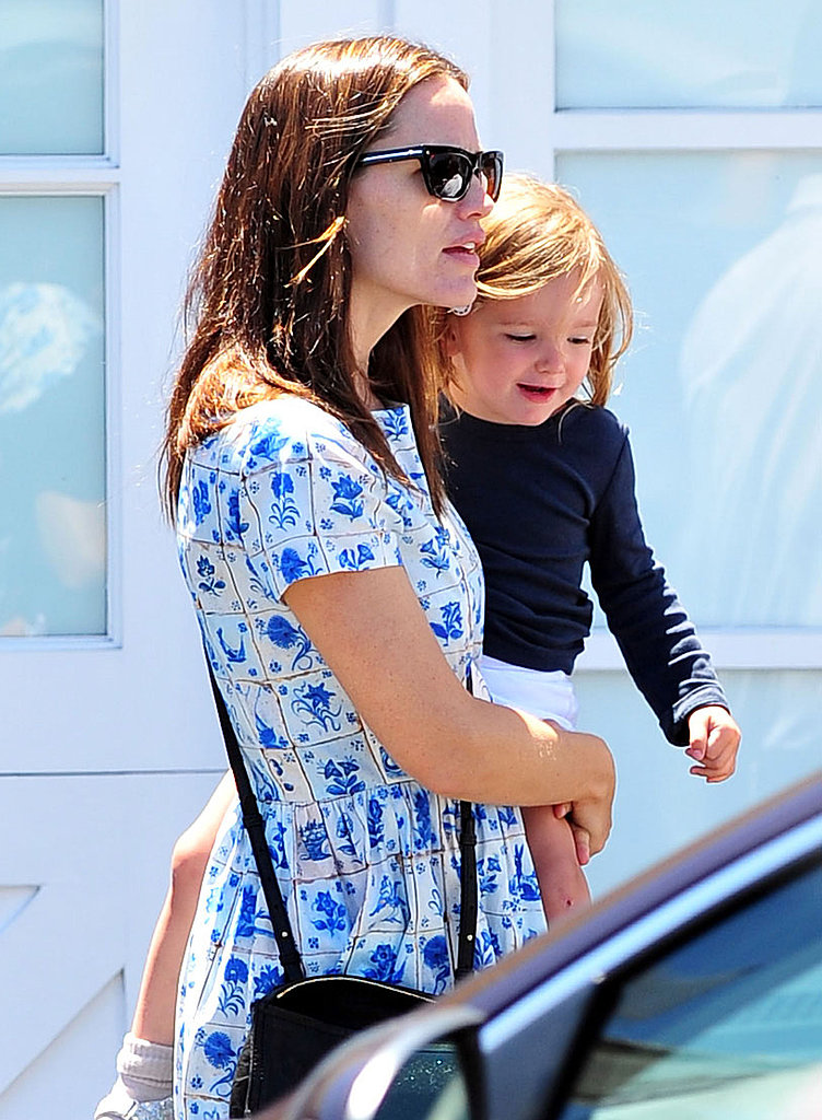 Jennifer Garner and Seraphina Affleck spend the Summer in LA.