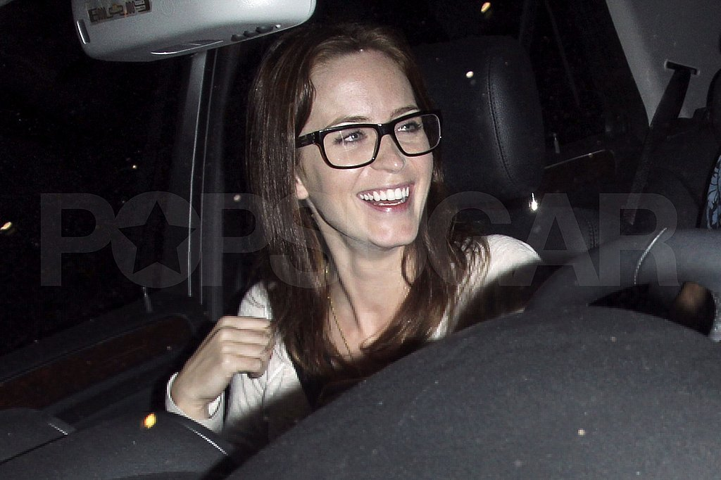 Emily Blunt at the Chateau Marmont.