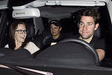 Emily Blunt and John Krasinski at the Chateau Marmont with Jeremy Renner.