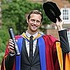 Alexander Skarsgard Pictures Getting Honorary Leeds Degree