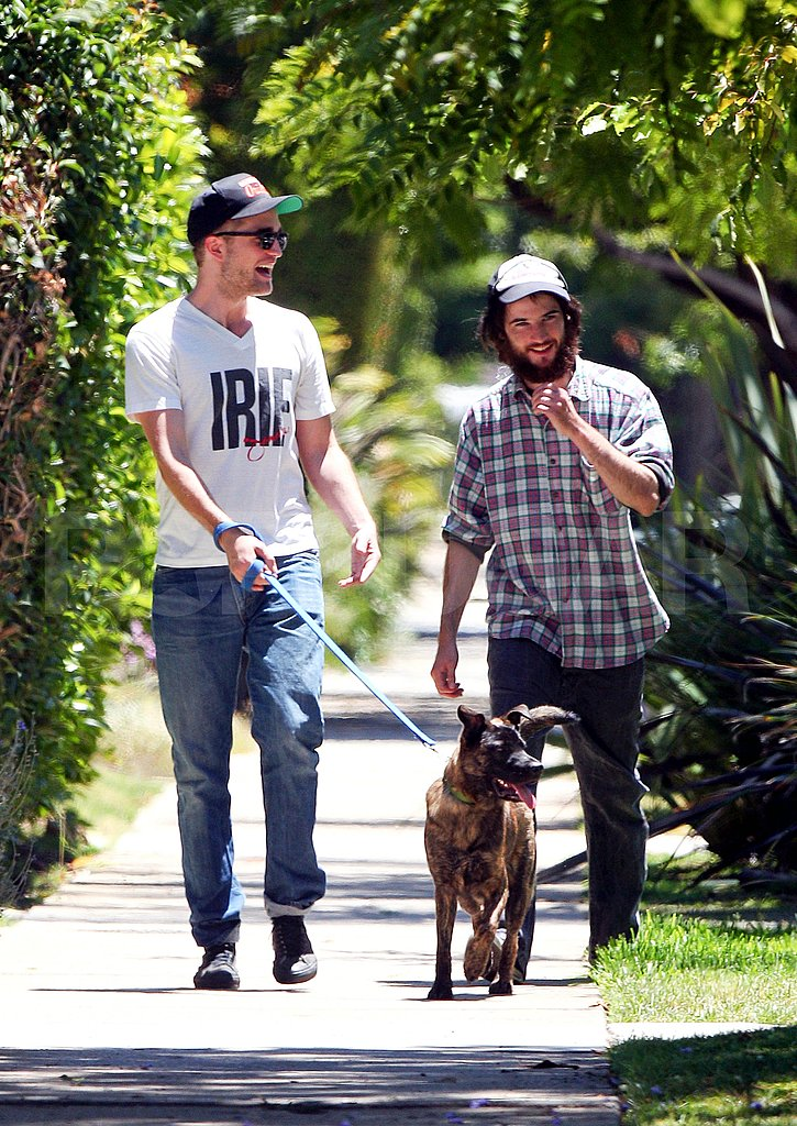 Robert Pattinson and Tom Sturridge in LA.