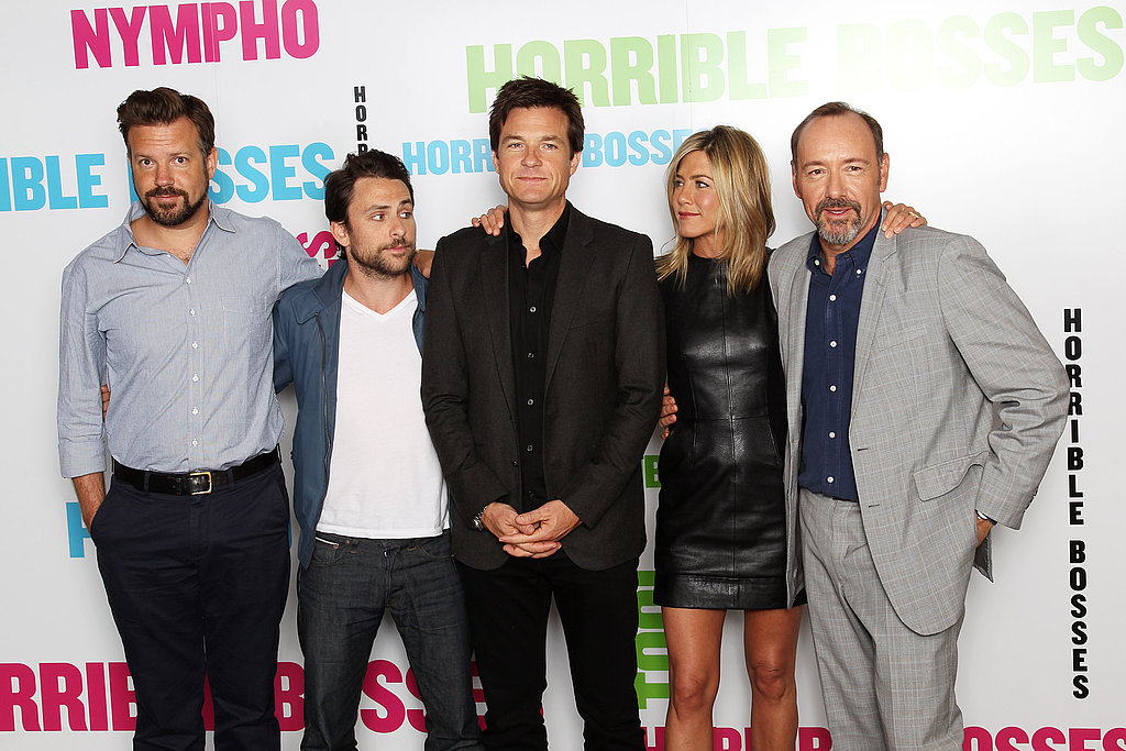 Horrible Bosses London Photo Call