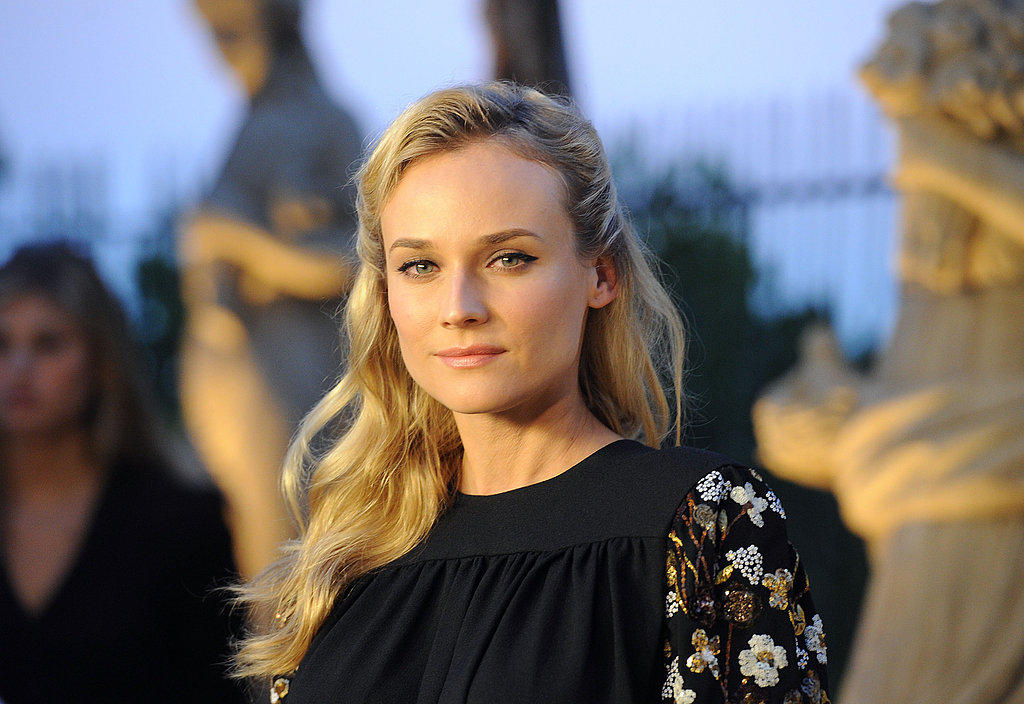 Diane Kruger parties in LA.