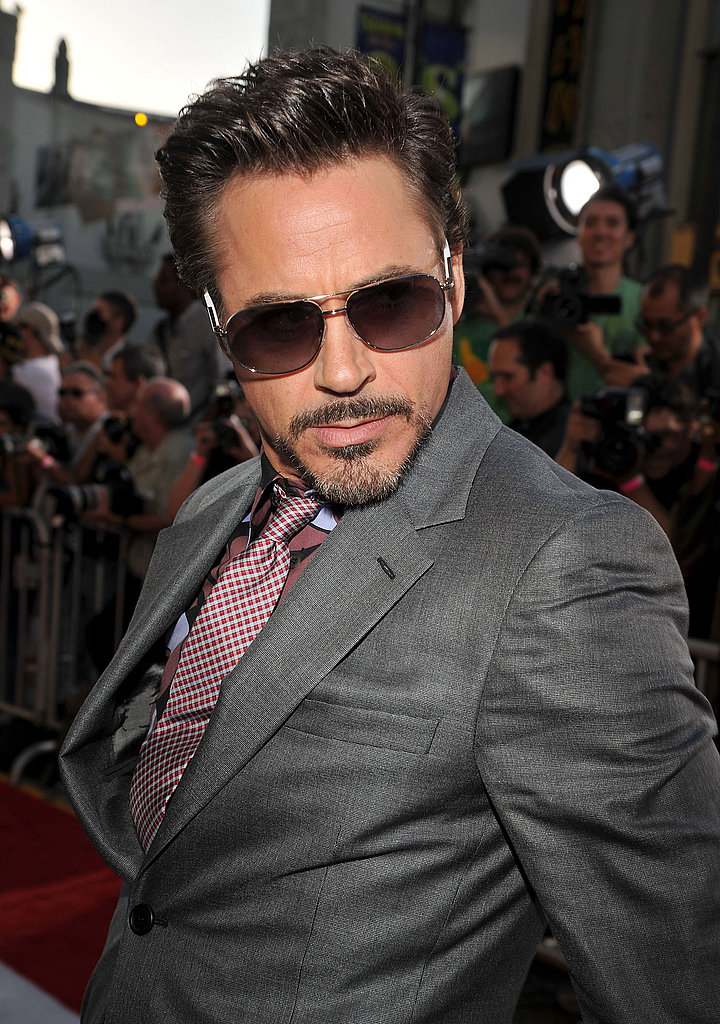 Robert Downey Jr. hammed it up at the premiere.