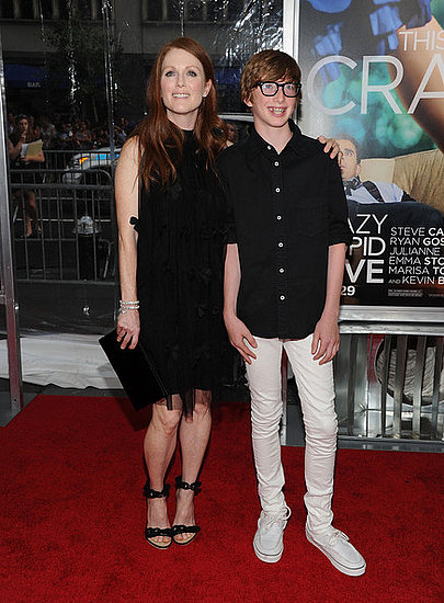 Julianne Moore and son Caleb