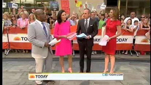 Video of Ryan Gosling and Emma Stone on The Today Show; Ryan Performs Dirty Dancing Lift With Al Roker