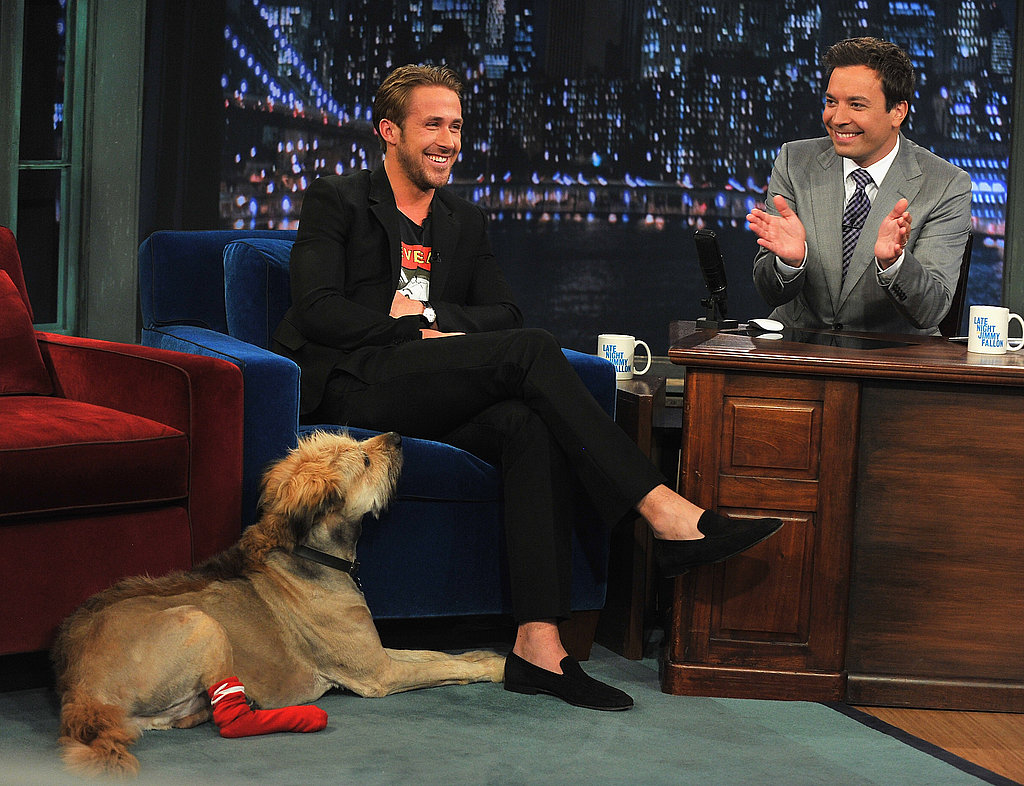 Ryan Gosling in loafers.