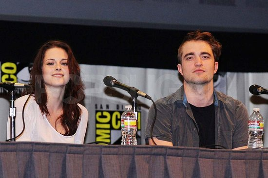 Robert Pattinson Chats Breaking Dawn and Wraps Up His Comic-Con Stop