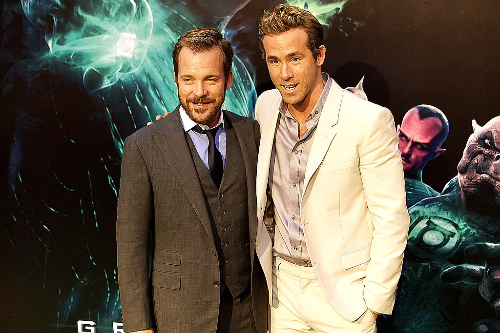 Ryan Reynolds and Peter Sarsgaard reunited in Madrid.