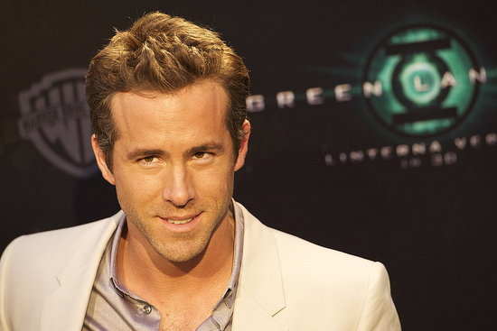 Ryan Reynolds flashed a smile.