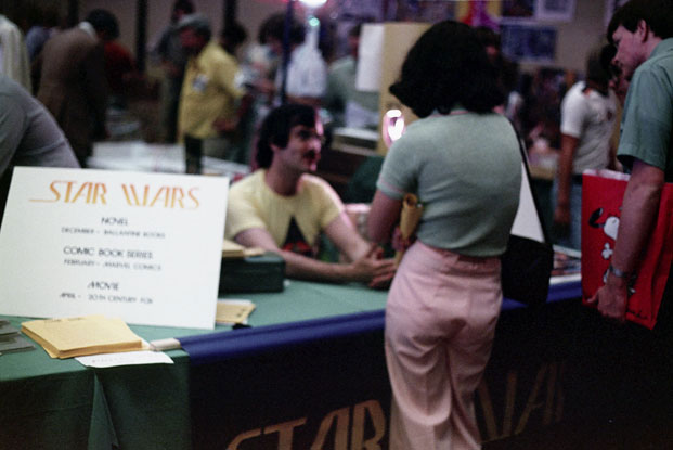 Geek Shot: Star Wars' Comic-Con Debut