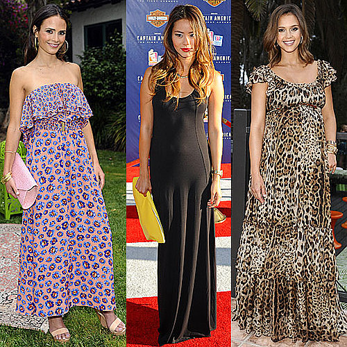Celebrities Wearing Maxi Dresses