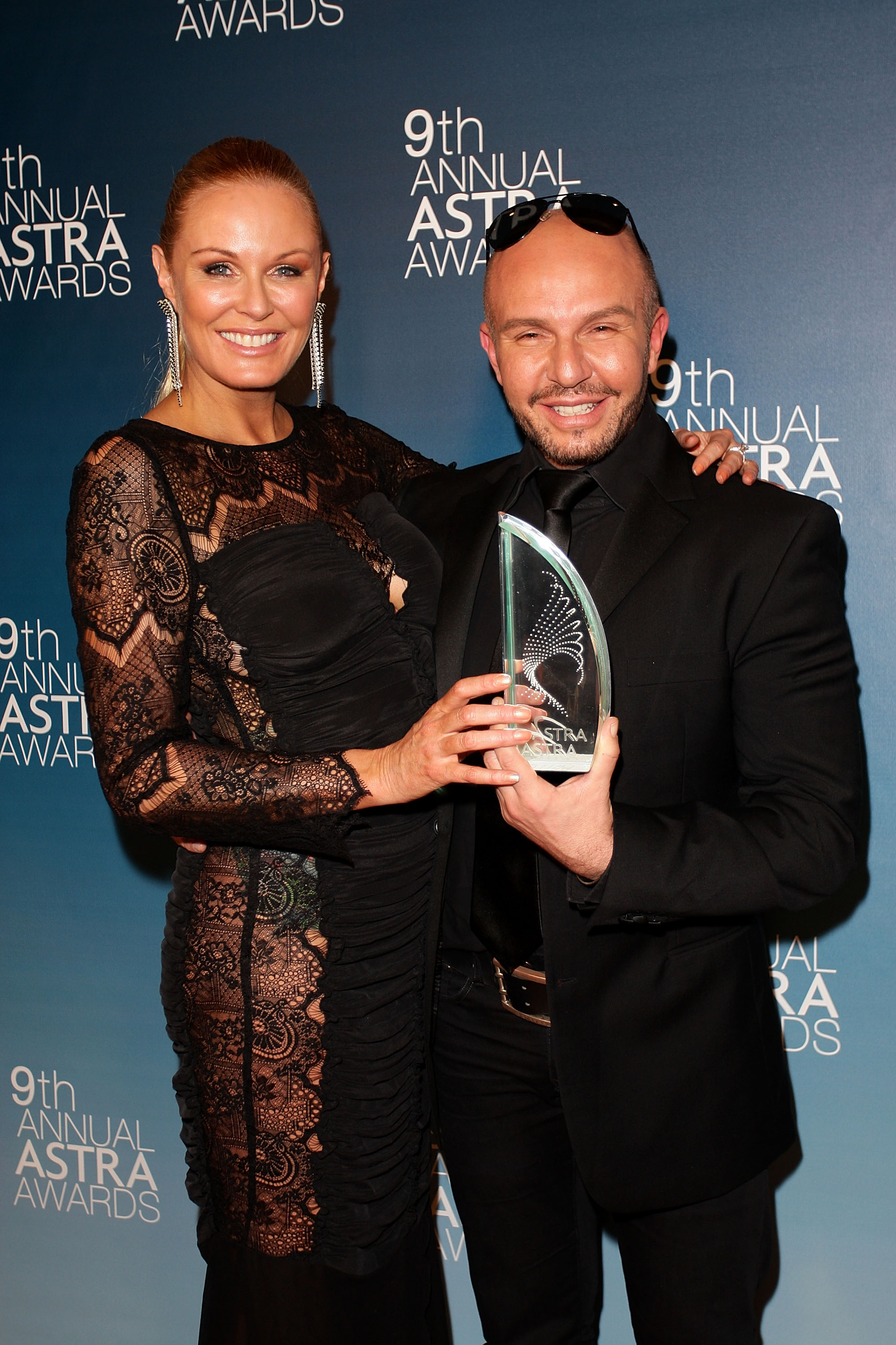 Charlotte Dawson and Alex Perry