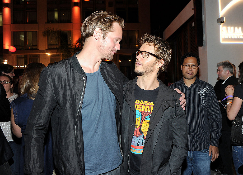 Alexander Skarsgard and Ryan Kwanten