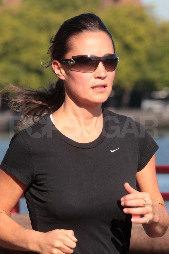 Pippa Middleton in sunglasses.