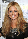 Sarah Michelle Gellar was on hand for Comic Con yesterday.