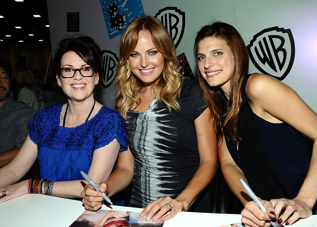 Megan Mullally, Malin Akerman, and Lake Bell